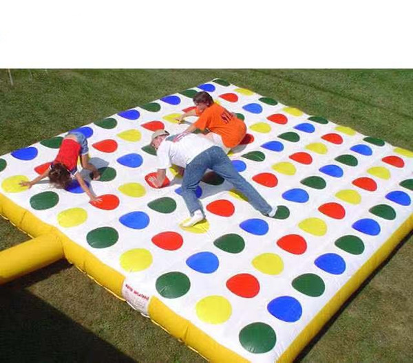 best selling Free shipping Inflatable Twister Game
