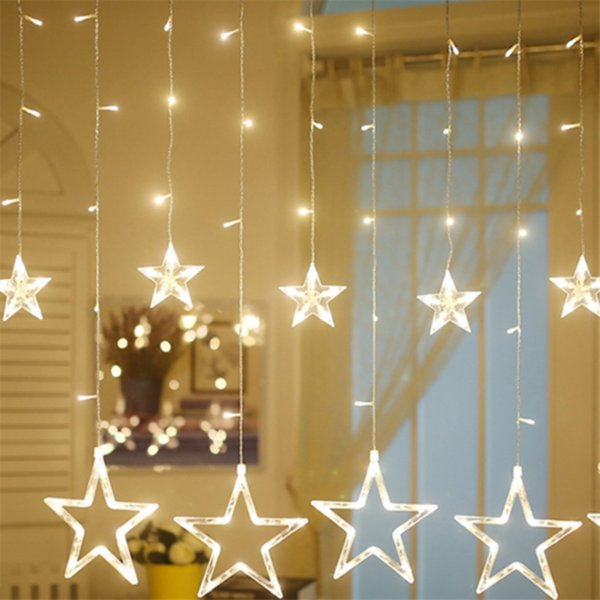 Christmas Decorations For Home Led Indoor Outdoor Icicle String Lights Fairy Lights Garland Home For Party Wedding Decorate Home For Christmas