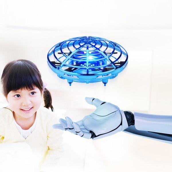 Hot Elicottero Mini Drone Ufo Rc Drone Infraed induzione Aircraft quadcopter Amplia Rc giocattoli per i bambini, i bambini, giocattoli adulti