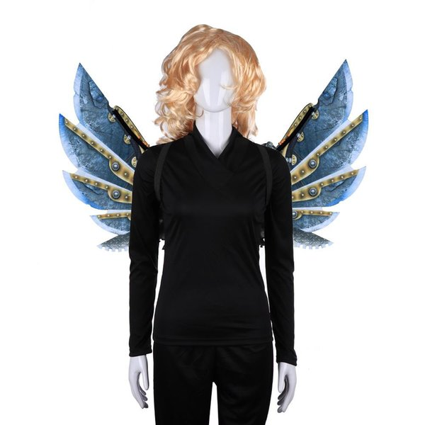 Free Shipping Cospty Carnival Fiesta Cosplay Vintage Cyber Steam Punk Accessories Gear Cosplay Wings Steampunk Costume