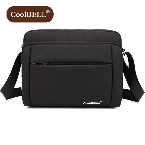 Cool Bell Brand Casual Women 10-inch Tablet Package Pop Mens Shoulder Messenger Bag High Quality Nylon Bags Fashion Z855