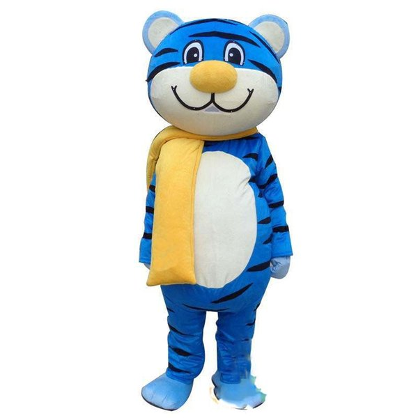 2019 New Tiger Adult Mascot Costume For Festival PARTY fancy dress