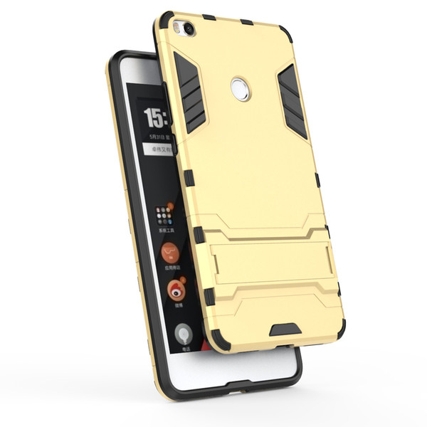 Novo Para XiaoMi Mix 2s 3 Mi 8se 9 escudo do telefone armadura de suporte dois-em-um Nota 2 3 Casos anti-sísmicos MI Max 2 3 casos