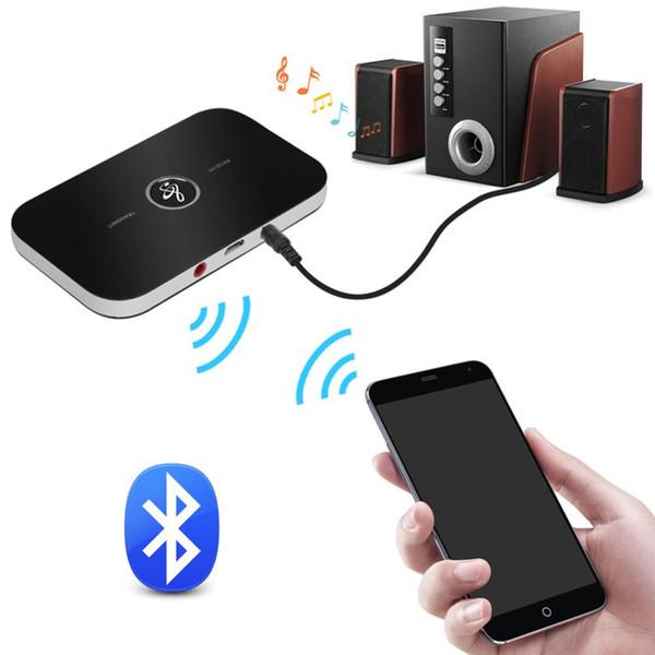 Adaptateur audio Bluetooth Kit émetteur / récepteur Bluetooth 4.1 sans fil 2 In1 3,5 mm pour voiture pour la télévision à domicile Système stéréo Casque Haut-parleur