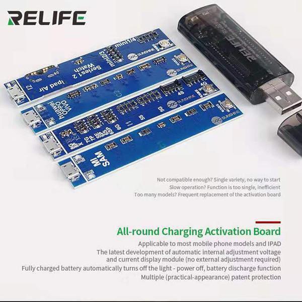Herramienta de PCB de carga rápida del tablero de activación de batería universal Wozniak con cable USB para iphone x xs xsmax para teléfono Android