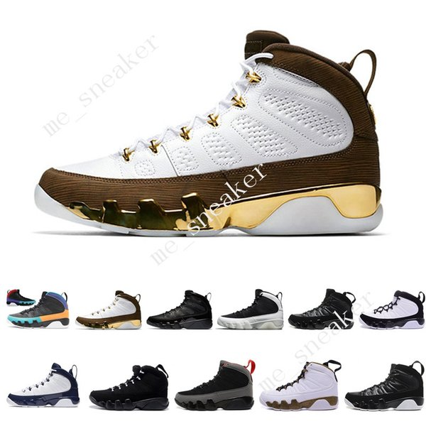 2019 9 9s Dream It Do It UNC Mop Melo Herren-Basketballschuhe LA OG Space Jam Männer brachten alle schwarzen anthrazitfarbenen Sport-Sneaker-Designer-Trainer