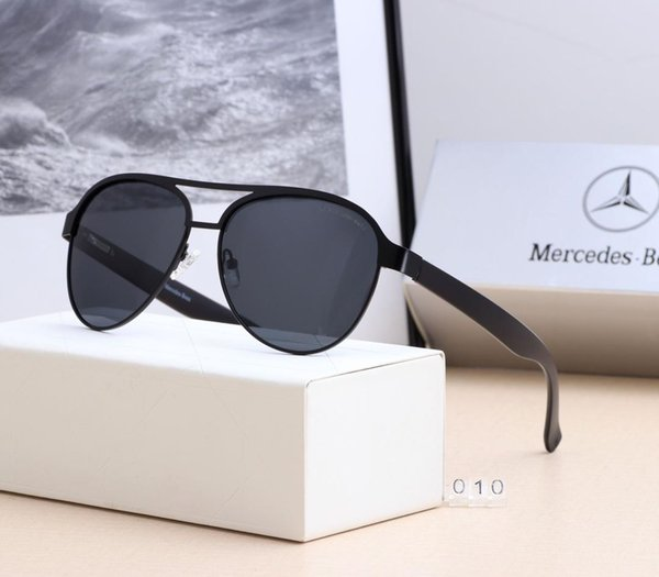 4c8699cb9 Marca Mercedes- Benz Óculos De Sol Dos Homens 2019 de alta qualidade uv400  Marca Designer