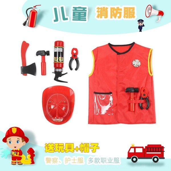 Crianças # 039; s New Roupa Fireman