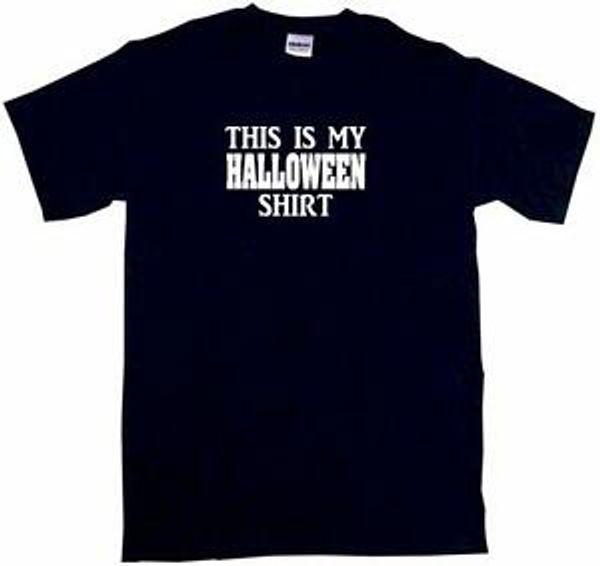 Bu benim Cadılar Bayramı Gömlek Erkek Tee Gömlek PiHip hop Boyut Renk Small-6XL