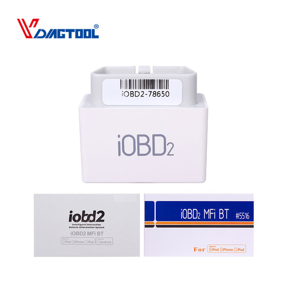 2018 Professional XTOOL iOBD2 Scanner for BMW Diagnostic Tool iPhone/iPad with Multi-Language and Bluetooth Free Shipping