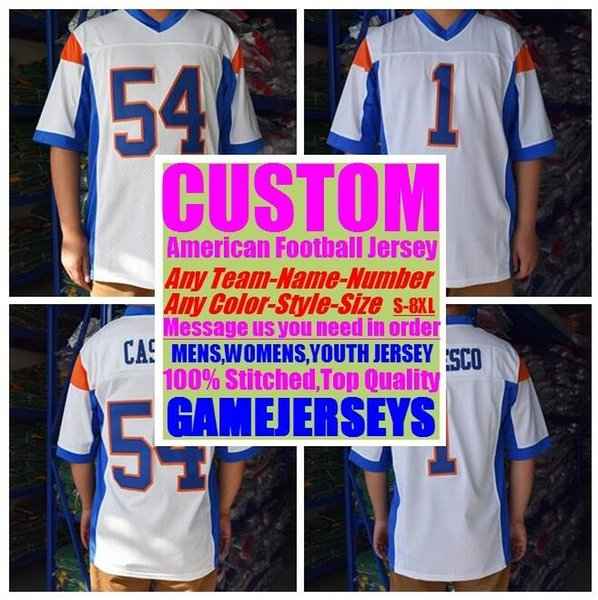 Customized american football jerseys college cheap authentic olive camo sports jersey stitched mens womens youth kids 4xl 5xl 6xl 7xl 8xl