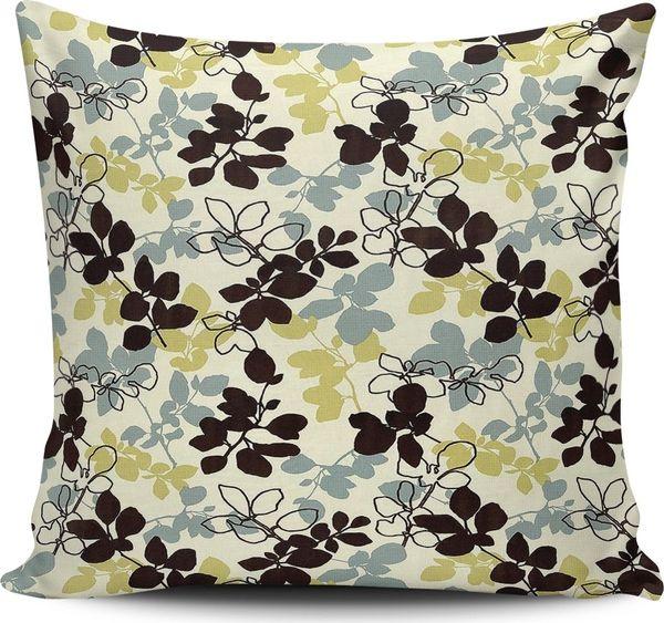 Alaca Zeichnung Pied-Blatt-Muster Modernes Design Pillow Pillow Schiff aus der Türkei HB-002884663