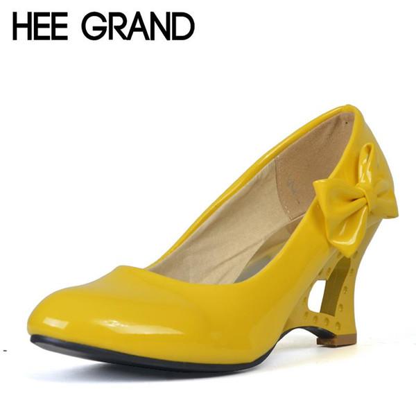 Designer Dress Shoes HEE GRAND Women's Wedges Heel Highs For 2019 Summer Cut-outs Love Heart Bottom Pumps Wedding Woman Size 35-39 XWD4