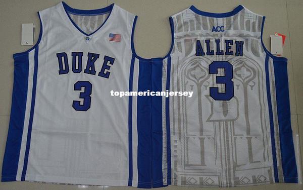 # 3 Garyson Allen maillot Duke Blue Devils Top Jersey rétro maillot de basket-ball Nouveau matériel Top qualité cousu maillot gilet XS-6XL gilets maillots Ncaa