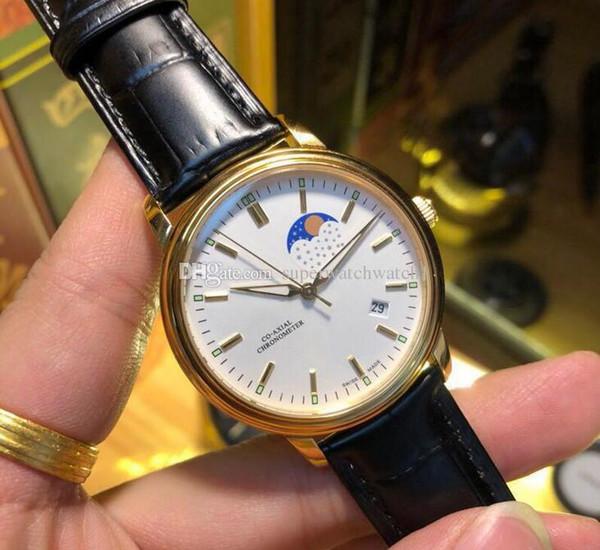 Роскошные часы OMBrand 052204 итальянский импортный ремешок из телячьей кожи автоматический мужской бренд часы диаметр 39,5 мм 2018 новая мода