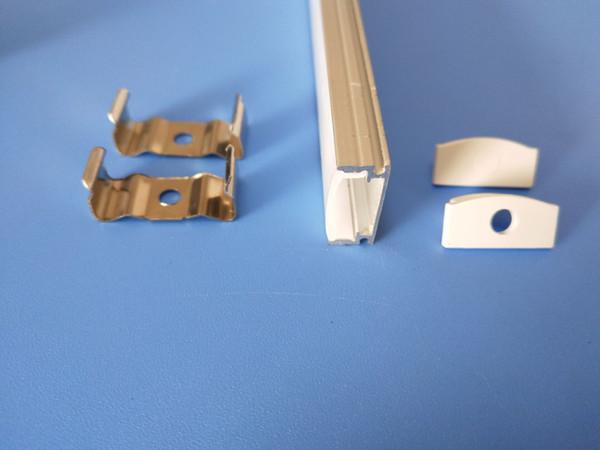Free Shipping Factory Pricewholesale price 2m/pcs 20PCS/lot 80inch anodized aluminium led strip profile,11mm pcb LED bar light ,led channel