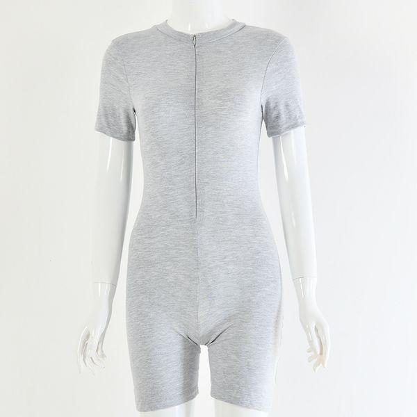 short gray
