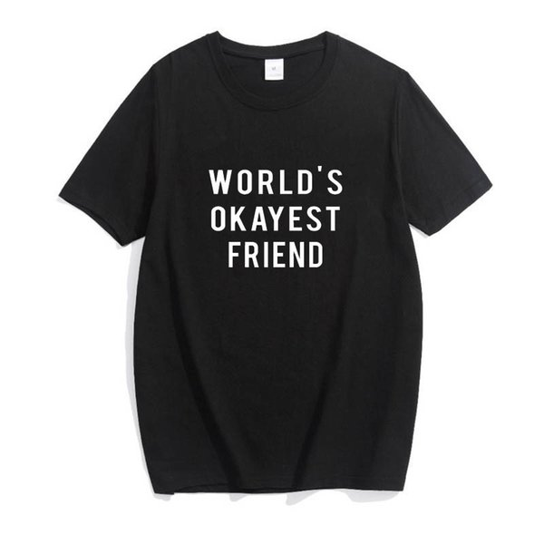 Worlds okayest friend tshirt, gifts for sister, gifts for her, okayest sister top, sister t-shirts More Size and Color