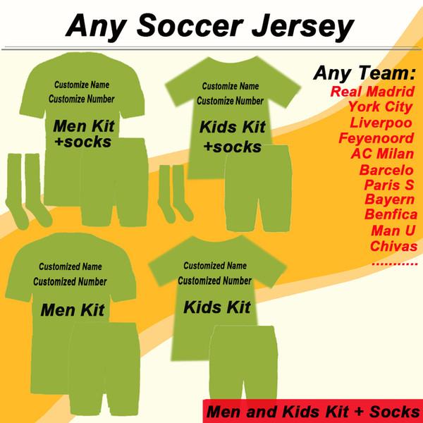 Herhangi bir Kulüp Takımı ve Ulusal Futbol Takımı Futbol Forması Yetişkin ve Çocuk Takımı Sipariş Bağlantısı (Siparişinizi vermeden önce bizimle iletişime geçin)