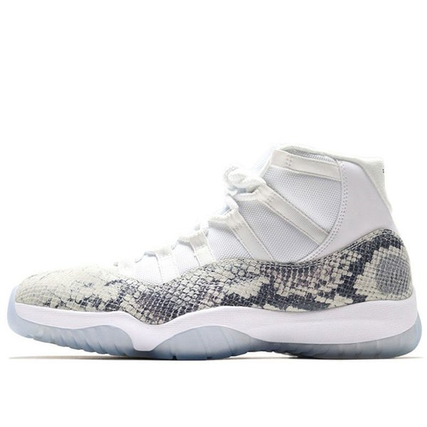 Snakeskin High White