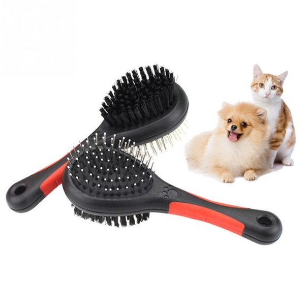 Pet Dog Double-faced Hair Comb Pets Grooming Double Sided Brushes Dogs Cats Puppy Hair Grooming Rake Combs Brush