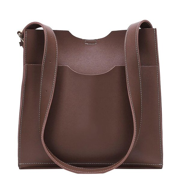 2019 New Designer Large Handbags Women Fashion Handbags Female Shoulder Crossbody Bag Messenger Bag Chic Large Totes Briefcase High Quality