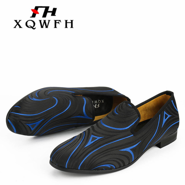 New Fashion Men Party and Wedding Handmade Loafers italian Men's Dress Shoes Comfortable Breathable Men Shoes