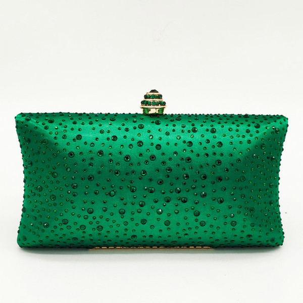 Green Crystal Bag