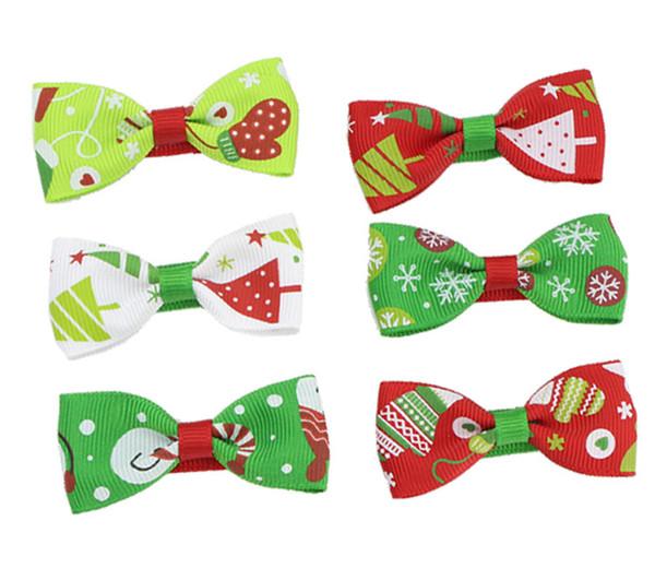 Christmas Eve Gift for Children Baby Bow Hairpin Duck Beak Clip Hair Clip Bow Headband Barrette