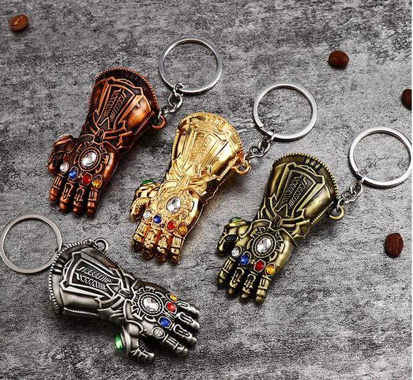 4.3 DHL nueva llave de hebilla Avenger alianza colgante Iron Man Mask American captain anime llavero pequeño regalo
