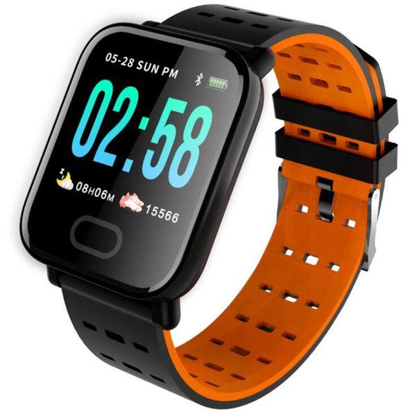 A6 1.3 inch color screen M20 heart rate blood pressure sleep monitoring IP67 waterproof running sports smart watch bracelet multi-language