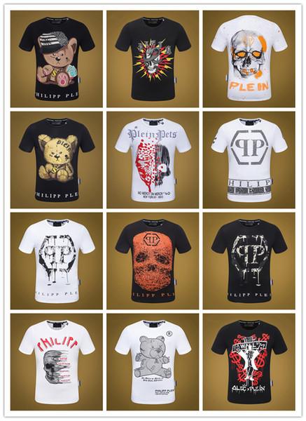 Nueva moda caliente Cráneos 3D Imprimir Camisetas de los hombres Medusa Hombres camiseta de manga corta ropa de verano Hombre Camiseta Tamaño asiático Corre pequeño M-XXXL
