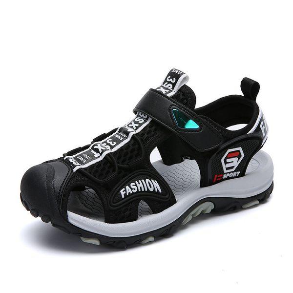 Summer Kids Shoes Beach Sandals Breathable Slippers Children Casual Shoes Outdoor Boys Clogs Flat Shoes Sandalia Infantil Y190525
