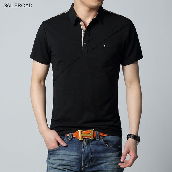 Good 6xl Plus Size Brand Clothing Men 'S Polo Shirt Men Cotton Short Sleeve Shirts Casual Male Tops Men Designer Polo Shirt Tees