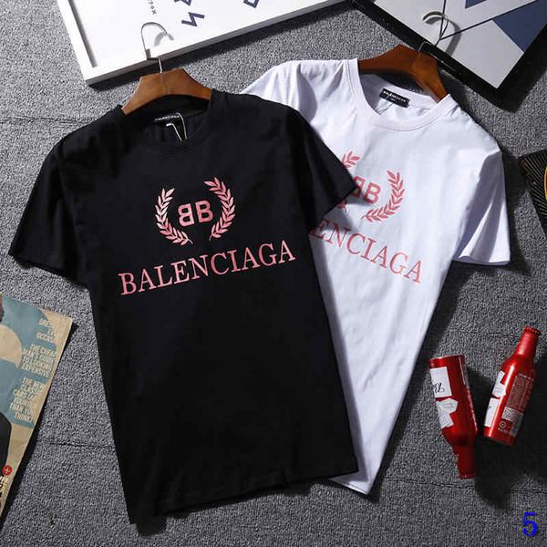 Mens Designer T Shirt Brand Fashion Tees Tops Breathable Loose Shorts Sleeves Letters Print Luxury Tops T Shirts Summer Tshirts5