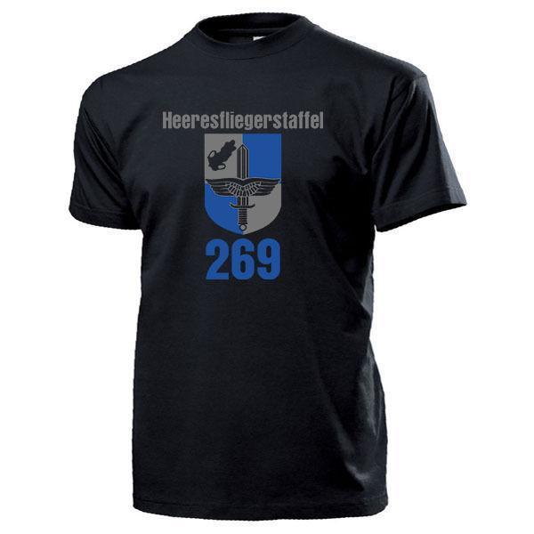 Heeresfliegerstaffel 269 Wappen Bundeswehr Heeresflieger BW - T shirt # 13984