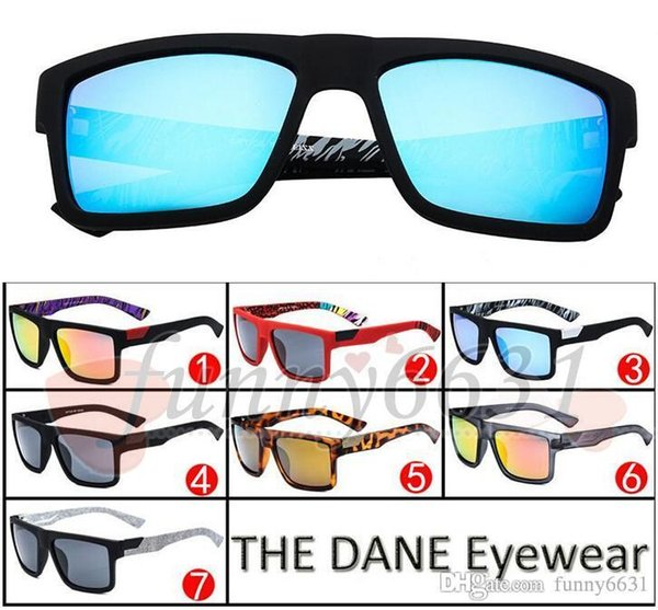 free ship New fashion Bicycle Glass Brand Designer Mens outdoor sport Sunglasses The DANE woman driving sunglasses 7colors goggle adumbral
