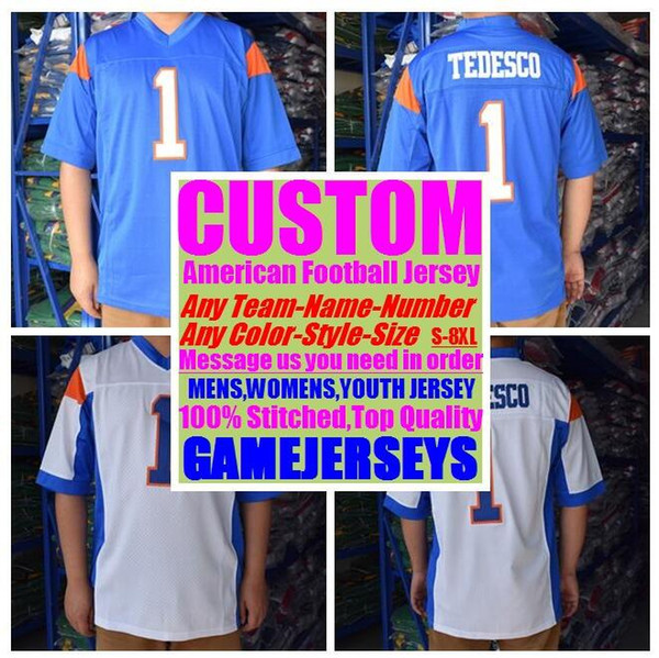 best selling Personalized american football jerseys college cheap authentic teams color sports jersey stitched mens women youth kids 4xl 5xl 6xl 7xl 8xl