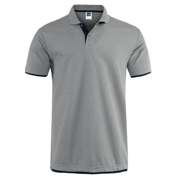 Mode-Mens Polo Shirt Marques Vêtements 2019 Eté Coton Polo Shirts À Manches Courtes Hommes Grande Taille Polos Shirt Jersey