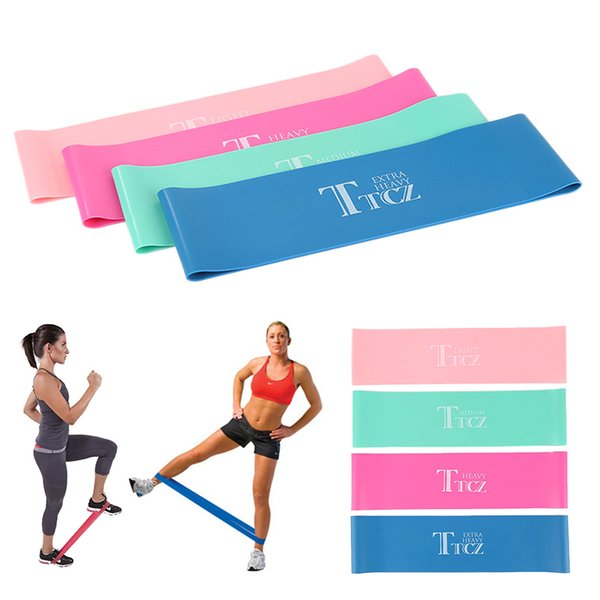 2018 Yoga Resistance Band Exercise Circulation Latex Band Yoga Rally Orchestra Fitness Equipment Training S