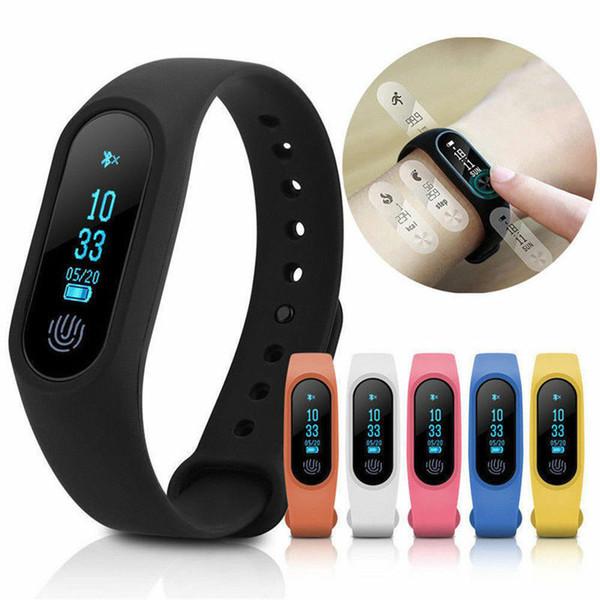 M2 Smart Bracelet Fitness Tracker Smartwatch Cardiofrequenzimetro Sleep Tracker Smart Band impermeabile per Android iOS Smartband del telefono