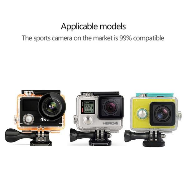 3 Way сцепления водонепроницаемого монопод селх Стики для 7 5-4 Черных для Xiaomi Yi 4K Спорт камерой штатив Стенд аксессуары