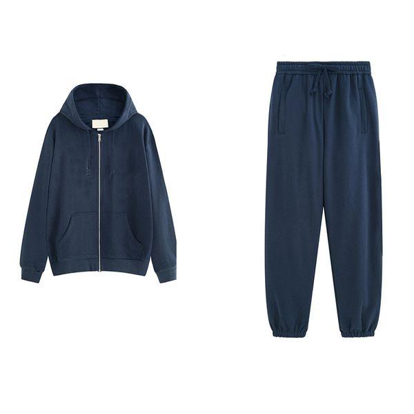 Tasarımcı Erkekler Spor Suit Eşofman Lüks İki Adet Moda Sportwears Sokak Stili Uzun Kollu ve uzun Pantolon Marka Mektuplar Giysileri
