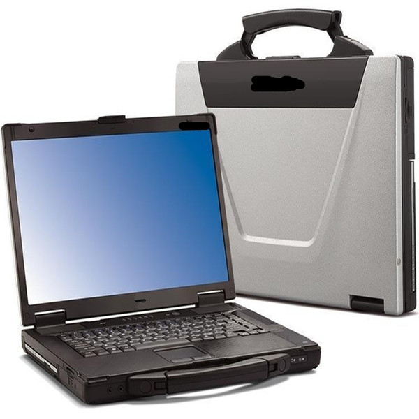 2019 Top ToughBook CF-52 CF52 Laptop For Panasonic Military Stable PC work with SD C4/C5 and for icom a2 ,Vas5054a