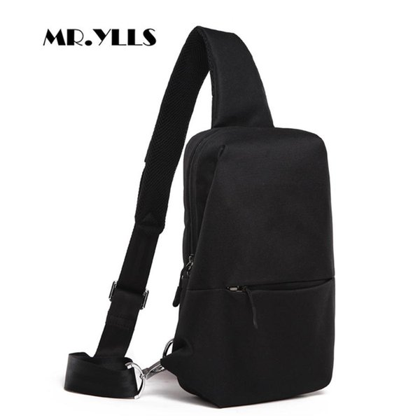 Usb Charging Men Messenger Bags Oxford Waterproof Men Chest Bags External Earphone Plug Males Shoulder Bag Fashion Males Bag New