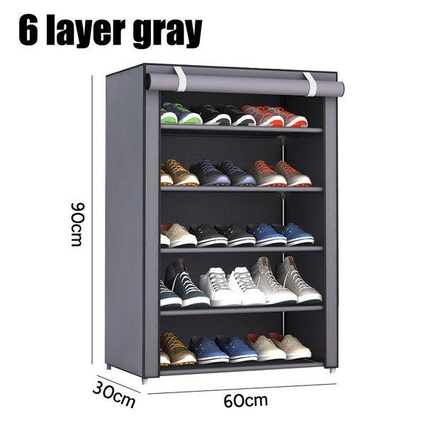 6 layer gray