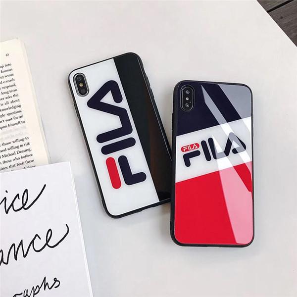 Iphone Xr Xs Max Telefon Kılıfı için Yeni Sıcak Satış TPU lüks Cam Geri Telefon Kapak Cep Cep Telefonu Kılıfı Iphone 8 Için