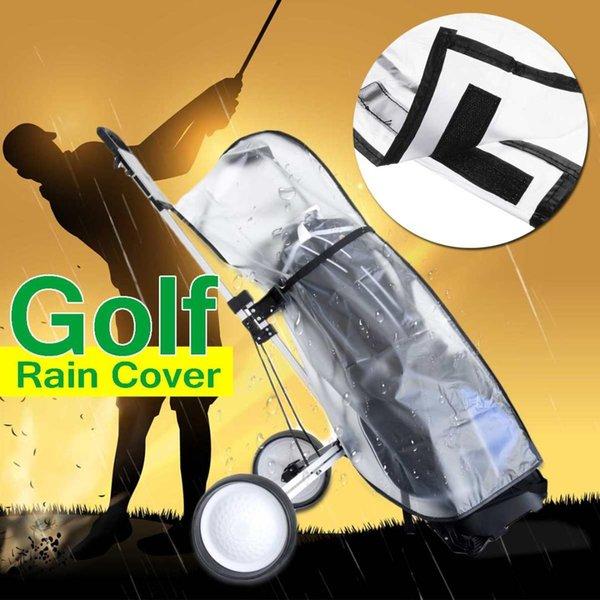 ПВХ сумка для гольфа водонепроницаемый пылезащитный чехол для гольфа от дождя щит открытый стержень протектор прозрачный магазин анти-пыли стандартный мяч Multifu