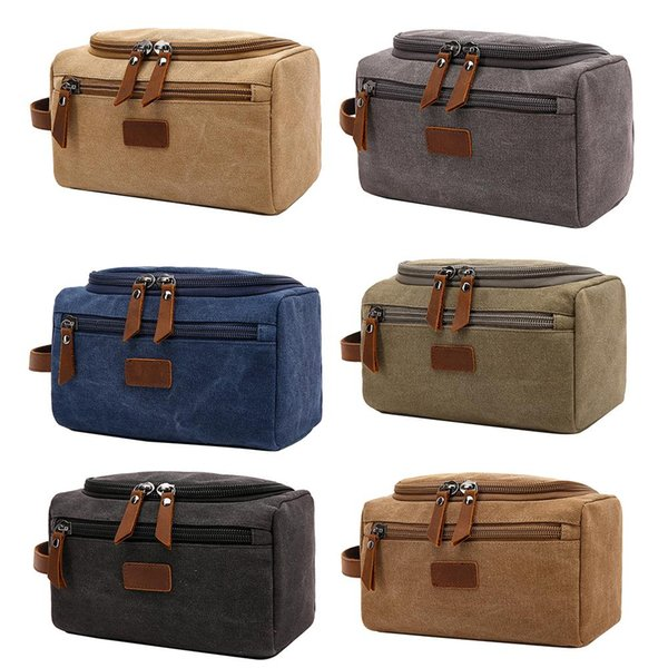 Large Capacity Zipper Travel  Cosmetic Bag Toiletry Organizer Wash Pouch Bags
