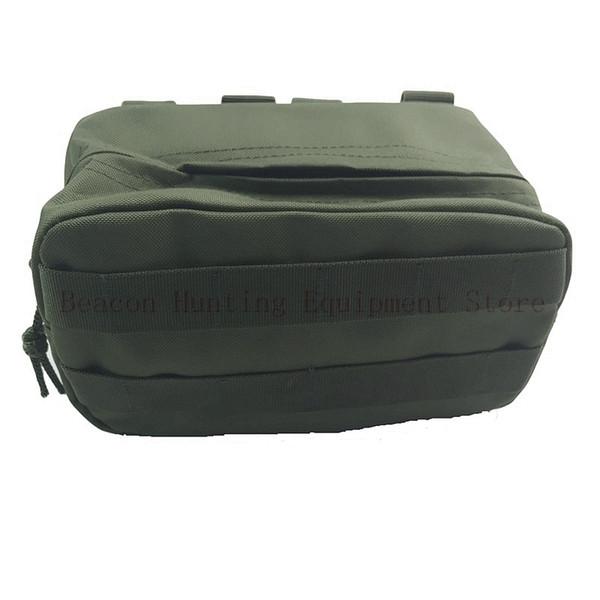 Taktische MOLLE Gürteltasche Outdoor Utility Tools Tasche Handytasche für Gürtel / Weste Schwarz sand grün cp Multicam # 85856